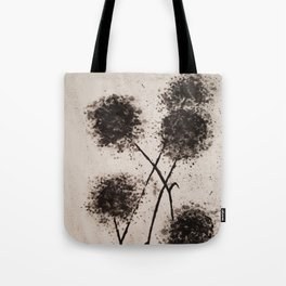 The Dark Flowers Of Discord Go To Seed Tote Bag