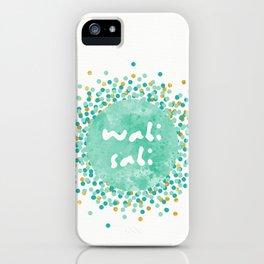 Wabi Sabi iPhone Case