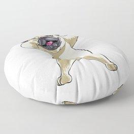 Pug Funny Pet Puppy Dog Lover Floor Pillow
