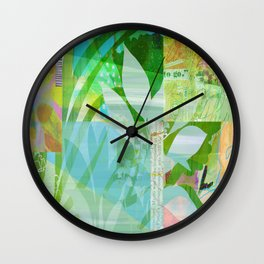Abounding Alder Wall Clock