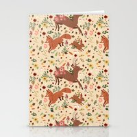 woodland Stationery Cards featuring Woodland by Sophie Eves