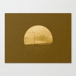 Three Little Planes Canvas Print