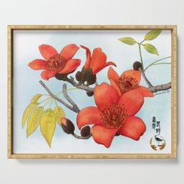 Tree Cotton Flower (Common Bombax) Serving Tray