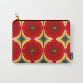 Poppies, poppy pattern, flowers, flower, floral Carry-All Pouch