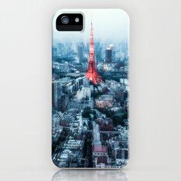 Tokyo Megacity iPhone Case