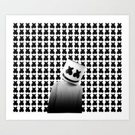 Marshmello Art Print