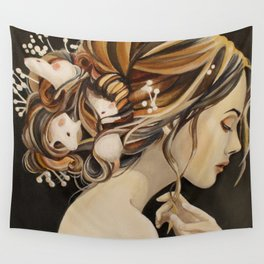 Rats Nest Wall Tapestry