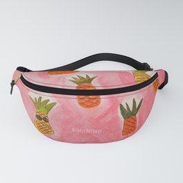 Pineapple Head Fanny Pack