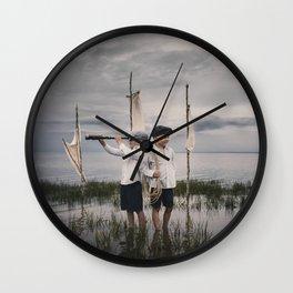 Aventure imaginaire Wall Clock