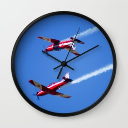 RAAF Roulettes (Avalon Airshow) Wall Clock