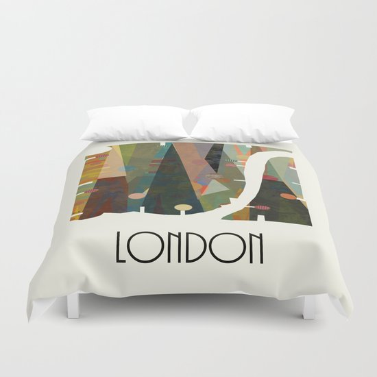 london modern Duvet Cover