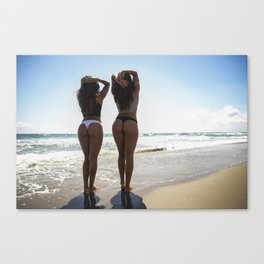 Twin Cheeks Canvas Print