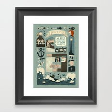 SeaWays Framed Art Print