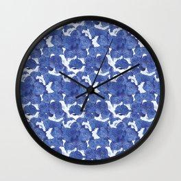 CHINA BLUE Wall Clock
