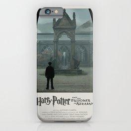 HP and the Prisoner of Azkaban (2004) Minimalist Poster iPhone Case