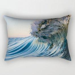 Golden Curls Rectangular Pillow