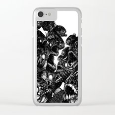 The Riot : Piranhas Clear iPhone Case