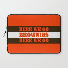 Here We go Brownies Cleveland Laptop Sleeve
