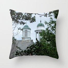 Salisbury Steeples Throw Pillow