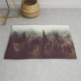 Weekend Escape - Forest Nature Photography Rug