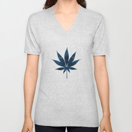 Cannabis leaf Unisex V-Neck