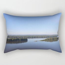 Mississippi River Rectangular Pillow