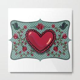 love and roses Metal Print