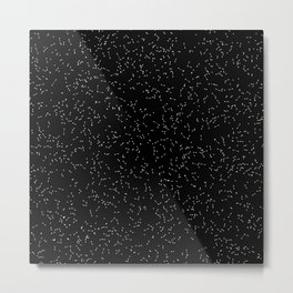 Particle System Metal Print