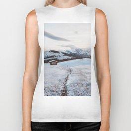 Alpine morning - Landscape and Nature Photography Biker Tank
