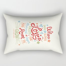 Sliver of Love Rectangular Pillow