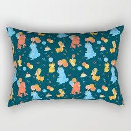 Party Dogs Rectangular Pillow