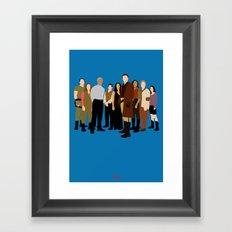 Firefly/serenity crew Framed Art Print