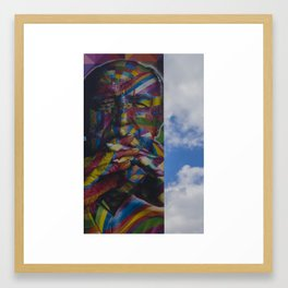 Niemeyer by Kobra Framed Art Print