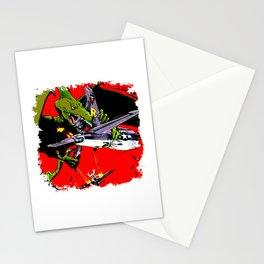 Kaiju Attack Stationery Cards