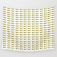 banana Wall Tapestries featuring Banana by RATTA