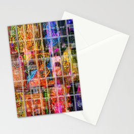 Caged Late Stationery Cards