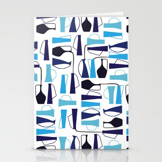 pouring pots Stationery Cards