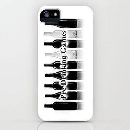 Pre Drinking Games Logo 2 iPhone Case