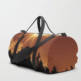 Golden Sun Duffle Bag