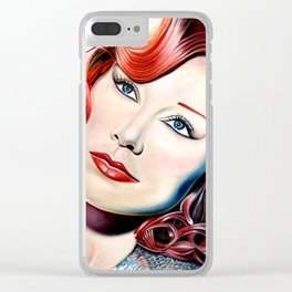 Tori Amos Painting Clear iPhone Case