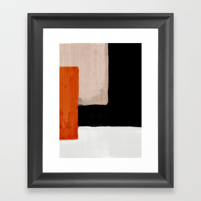 abstract minimal 14 Gerahmter Kunstdruck