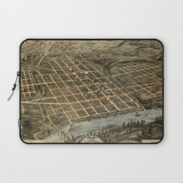 Map Of Knoxville 1871 Laptop Sleeve
