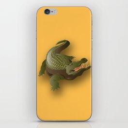 Crocodile - 'A Fantastic Journey' iPhone Skin