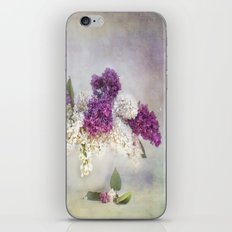 still life with lilac iPhone & iPod Skin