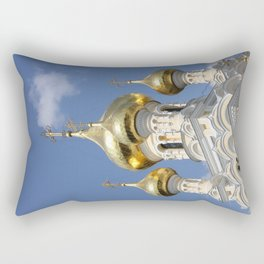 Onion Domes Alexander Nevsky Cathedral Rectangular Pillow