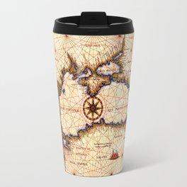 Map Of The Black Sea 1559b Travel Mug