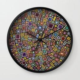 Squares Dancing Wall Clock