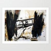 bridge Art Prints featuring bridge by woman