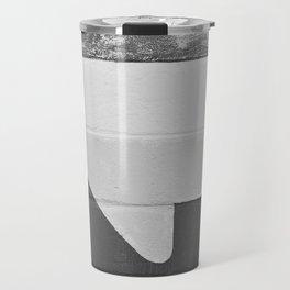 Arrow (Black and White) Travel Mug