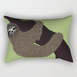 Cute Sloth Rectangular Pillow